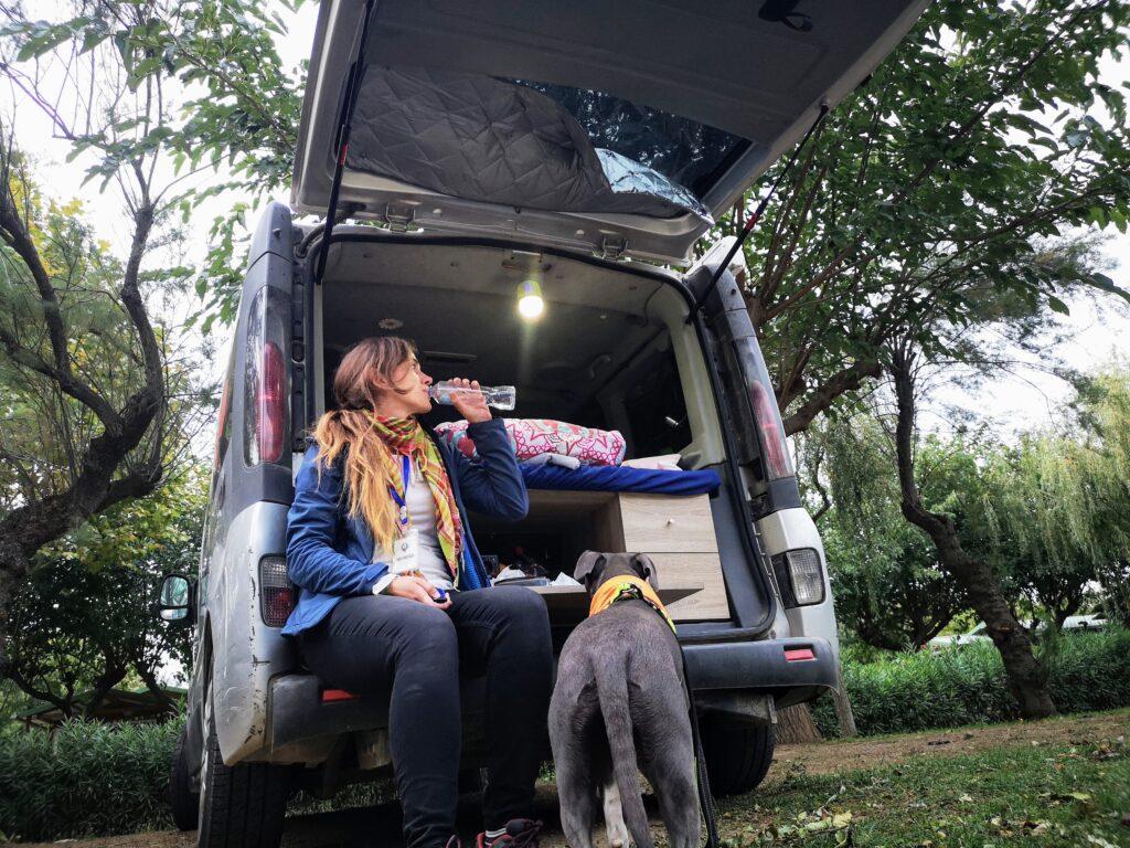 campings y áreas de ac